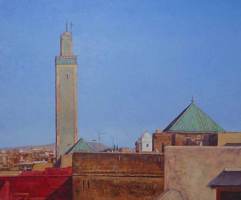 Tom Young - Kairaouine Mosque, Fes